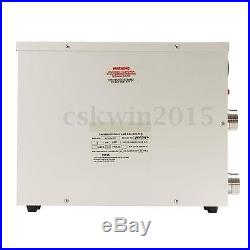11KW 220V Electric Water Heater Thermostat For Swimming Pool SPA Hot Tub New