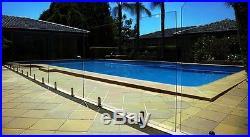 18x Balcony Glass Pool Fence Spigots Balustrade Fence Fencing