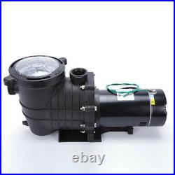 1.5HP In-Ground Swimming Pool Pump Motor Strainer Replacement For Hayward
