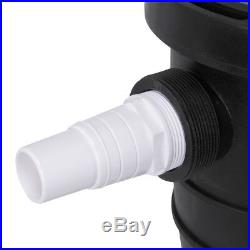 1.5HP Swimming Pool Pump UL Listed 6480GPH with Strainer Basket Hose Adapter Set