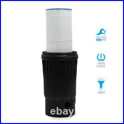 200 sq. Ft. In-Ground Easy Clean Pool Cartridge Filter with Tank Pool Filter