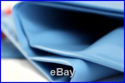 20x40' Dark Blue Rectangular Inground Pool Cover + Water Tubes + Winterizing Kit