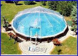 21' Round 14 Panel Above Ground Pool Dome- Atlantic, Swim n Play Esther Williams