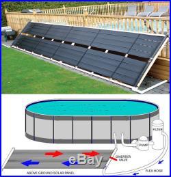 24 x 20' Inground / Above Ground Pool Solar Panel Pool Heater 40 Sq Ft 2' x 20