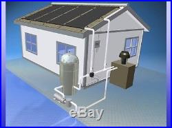 2 4'x12' Inground Pool Solar Panels WithRoof Kits 10 yr(4 panels x 2' wide x 12')