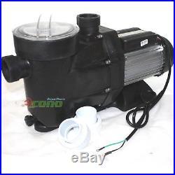 2.5hp Swimming Pool Spa Filter Water Pump 1850w 220v Motor 8880gph
