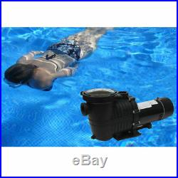 2-Speed 1.5/2HP High-Flo INGROUND Swimming POOL PUMP Strainer Energy Saving 230V