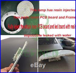 300mm Led Swimming Pool Light RGB 316L Stainless 12V Resin Filled 2M 35W 513LED