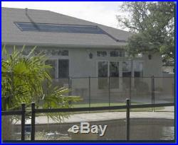 32,000 gal Inground Pool Solar Heater 4 Panel System
