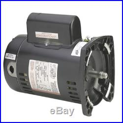A. O. Smith 1 HP USQ1102 48Y Square Flange Pool Pump Motor, 15.3/7.6A 115/230V