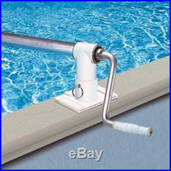 Aboveground Solar Blanket Swimming Pool Reel Up To 28