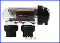 Astral hurlcon chlorinator VX 7 salt water cell