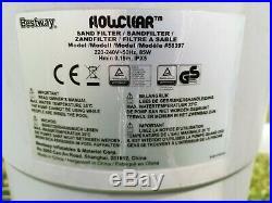 Bestway Poolzubehör Flowclear SandFilterpumpe, 2,00(2,006 l/h) Top Gebraucht