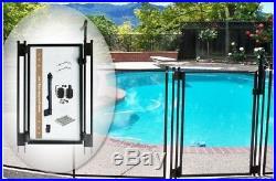 Brand New Pool Fence DIY by Life Saver Self-Closing Gate Kit, Black