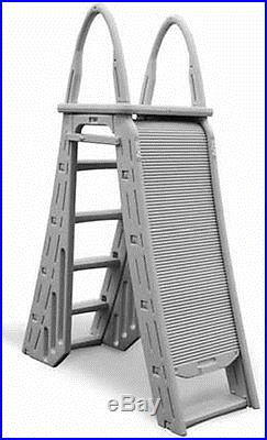 Confer 7200 Guard Heavy Duty A Frame Aboveground Swimming Pool Ladder 48 56 Affordable Pool Parts