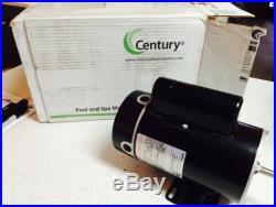 Century 1.5HP 2 Speed 230V Thru Bolt Motor (BN34V1) Pool & Spa Motor