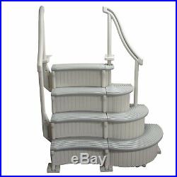 Confer Plastics CCX-AG Curve Complete Above Ground Swimming Pool Step System