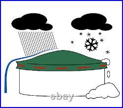 EPSS XXL Pool Luftkissen 2x2,5m 2x4m Poolkissen Winterkissen Poolpolster Groß