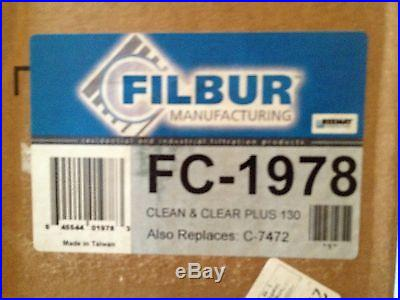 FILBUR FC-1978 Cartridge Filter SET OF FOUR