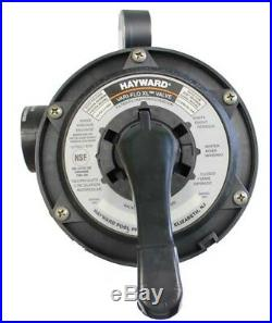 HAYWARD SP0714T Pro Series 6-Way Sand Filter Top Mount Control Valve 1.5