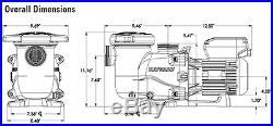 Hayward SP2300VSP Max-Flo XL Variable Speed In-ground Swimming Pool Pump
