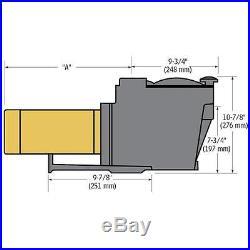 Hayward Super Pump SP2610X15 1.5 HP In Ground Pool Pump