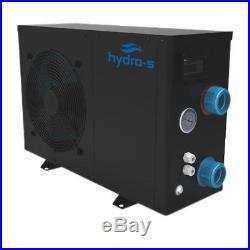 Hydro-S Schwimmbad Wärmepumpe 3-12 kW Poolheizung Poolwärmepumpe Pool Heizung