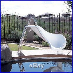 Interfab Zoomerang 3' Inground Swimming Pool Zoom Flume Water Slide ZM-CR-SS