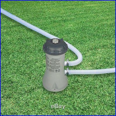 Intex 1000 GPH Easy Set Above Ground Swimming Pool Filter Pump 637R 28637EG