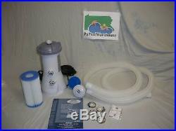 Intex 1000 gph 56637 Above Ground Pool Filter Pump NEW