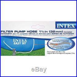 Intex 1.25 Diameter Filter Accessory Swimming Pool Pump Replacement Hose 59 Lo