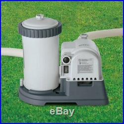 Intex 28633EG 2500 GPH Above Ground Swimming Pool Cartridge Filter Pump System
