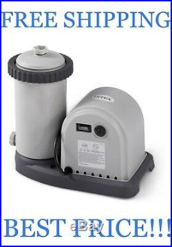 Intex 28635EG 1500 GPH Easy Set Above Ground Swimming Pool Pump CHECK SHIP DATE