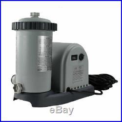 Intex 28635EG 1500 GPH Easy Set Above Ground Swimming Pool Pump Filter System