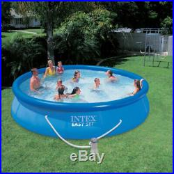 Intex 28637EG 1000 GPH Easy Set Above Ground Swimming Pool Filter Pump System