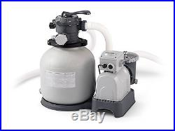 Intex 28651EG Above Ground 3000 GPH 16 Swimming Pool Sand Filter Pump Set