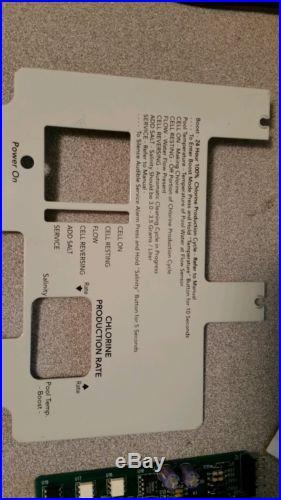 JANDY AQUA PURE FRONT CONTROL JOARD. R0403900