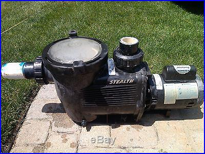 JANDY STEALTH JHP 1.0 HP INGROUND POOL PUMP WITH FILTER