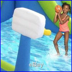 Kahuna Tornado Tower Inflatable Outdoor Kiddie Pool Slide & Water Park(Open Box)
