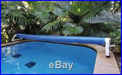 Kokido APOLLO In-Ground Swimming Pool Cover Reel Set (Up To 19.5' Feet)