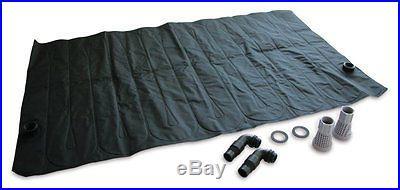 Kokido Solar Swimming Pool Water Heater Heating Coil Panel w/ Intex Connectors