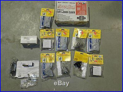 Lot Of Swimming Pool Fence Gate Latch Round Post Adapter Hydraulic Gate Closer