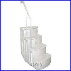 Main Access 200600T Above Ground Swimming Pool Entry Smart Ladder Steps (USED)