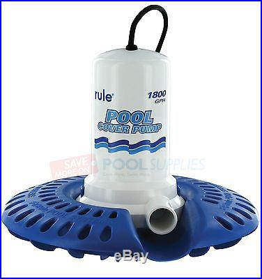 New Rule Itt 1800 Gph Fully Automatic Swimming Pool Cover