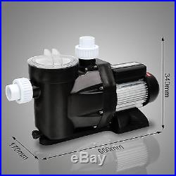 New Swimming Pool Pump Inground Single Speed Motor Compatible 2.5HP 1850W 110V