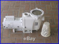 PENTAIR WHISPERFLO 1.5 HP POOL PUMP 220 / 115V MODEL WF-26 VERY NICE CONDITION