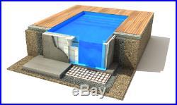PP Pool 6,0x3,0 Schwimmbecken mit Zubehoer Swimmingpool Fertigbecken Filteranlag