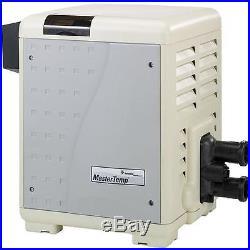 Pentair MasterTemp Low NOx 400,000 BTU Natural Gas Cupro-Nickel Heater- 460805