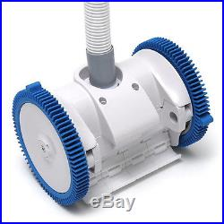 PoolVergnuegen 2x Suction The Pool Cleaner Two Wheel Suction Side Pool Cleaner