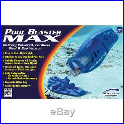 Pool Blaster Max Pool Blaster 10-in Handheld Pool Vacuum NIB BLASTERMAX
